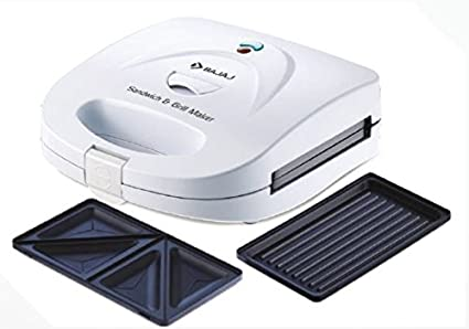 e1346069297 Buy Bajaj Sandwich   Grill Maker Toaster With Changeable Plates ...