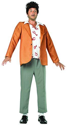 Rasta Imposta Men's Seinfeld Kramer Costume, Brown, One Size