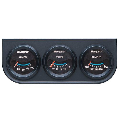 Sunpro CP7994 Triple Gauge Kit ()