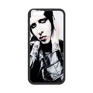 iphone6 4.7 inch Phone Case Black Marilyn Manson UYUI6834829