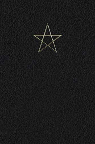 Monogram Pentagram (Neopaganism) Notebook (Monogram Black 150 Lined)