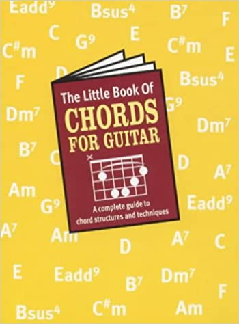 The Little Book of Chords (for Guitar): Amazon.co.uk: Music Sales ...