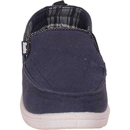 Bata Men Shoes Casual Canvas Blue J3lKFT1c