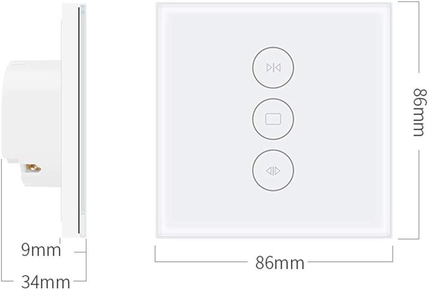 Bresuve Interruptor De la Cortina De WiFi Compatible Con Alexa//Google Home Funci/ón Temporizador Interruptor Ciego El/éctrico Para Obturador Rodillo Motor Tubular Interruptor Del Obturador del Rodillo