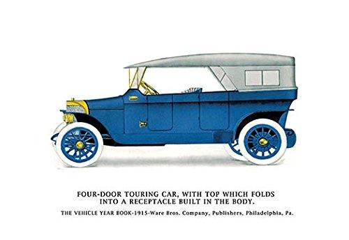 Buy buyenlarge 'four-door touring car' graphic art