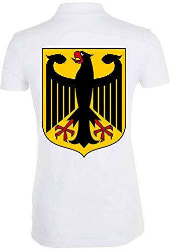 Générique Germany Coat of Arms T-Shirt Polo Femme 1
