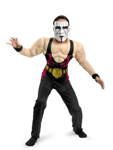 [Sting Classic Muscle Costume - Small] (Wwe Girl Costumes)
