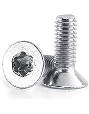 Platte kopschroeven roestvrij staal sterschroef M4x 8mm 10mm 12mm 16mm 20mm 25mm 30mm 50 stuks, EXPSFN018974
