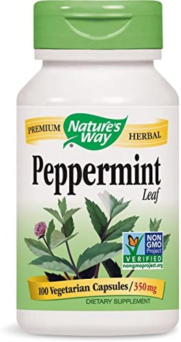 Natures Way Peppermint Leaves Capsules