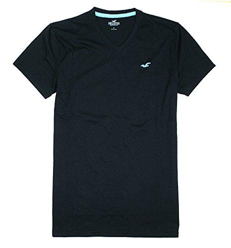 Hollister Mens Must Have Basic Plain T Shirt Ho8  Small  Black