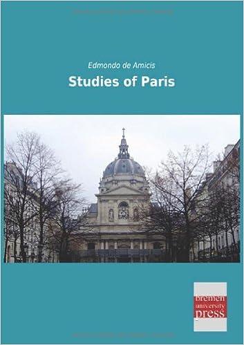 Téléchargements gratuits de livres audio Studies of Paris PDF iBook