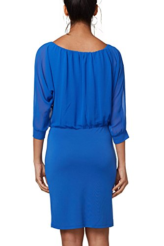 Bright Bleu ESPRIT Blue 410 Femme Robe Collection 4fCnxIzqwT