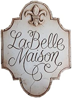 product image for Piazza Pisano French Decor Sign La Belle Maison