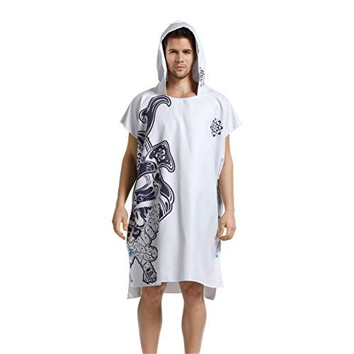 Con Cappuccio Oversize Bianca Compatti Accappatoio Surf Mult Gli Cambiano Asciugamano Uomo Microfibra Semplici In Accappatoi Da Spiaggia Adulti Copri Salopette Poncho Oxg6R
