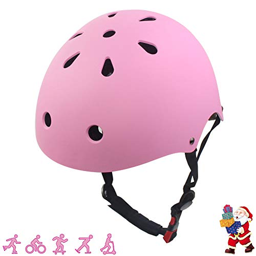 LANOVAGEAR Kids Bike Helmet CPSC Certified Adjustable Bike Cycling Helmet for Outdoor Sports Safety