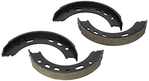 Parking Porsche Brake - Bosch BS893 Blue Drum Parking Brake Shoe Set