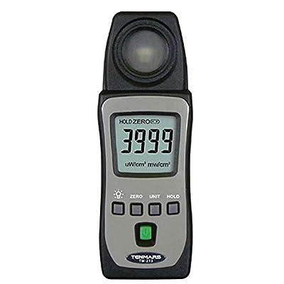 TM-213 Pocket UV-Ab Light Meter UV detector spectrum from 290 nm to 390 nm.