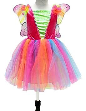 Up & Co – 047090 – Disfraz Vestido de hada con accesorios – 3 – 4 ...