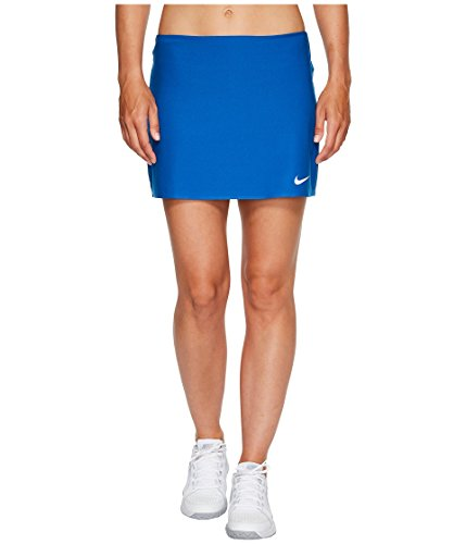 NIKE Women's NikeCourt Power Spin Tennis Skirt (XS, Blue (Power Tennis Skort Skirt)