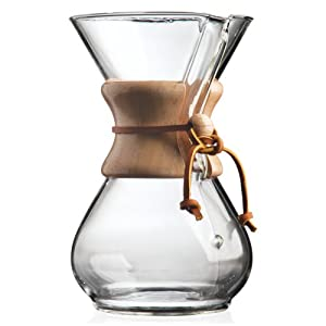 Chemex 6-Cup Classic Series Glass Coffee Maker – Great coffee, bad math.