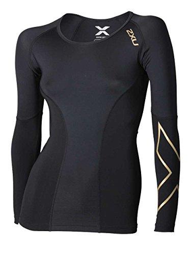 2 compressione Perform Oberteil nbsp;X Shorts Compression Gold Black U Donna rRqxFr