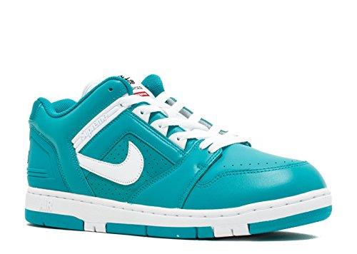 Nike Sb Af2 Lave Øverste Herre Trænere Aa0871 Sneakers Sko Ny Smaragd, Hvid-ny Smaragd