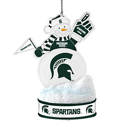 NCAA Michigan State Spartans LED Snowman (Choice Snowman)