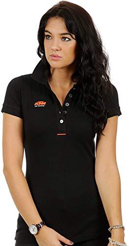 KTM polo para mujer Factory Lady equipo negro: Amazon.es: Deportes ...