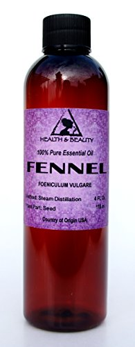 Fennel Essential Oil Organic Aromatherapy Therapeutic Grade 100% Pure Natural 4 oz