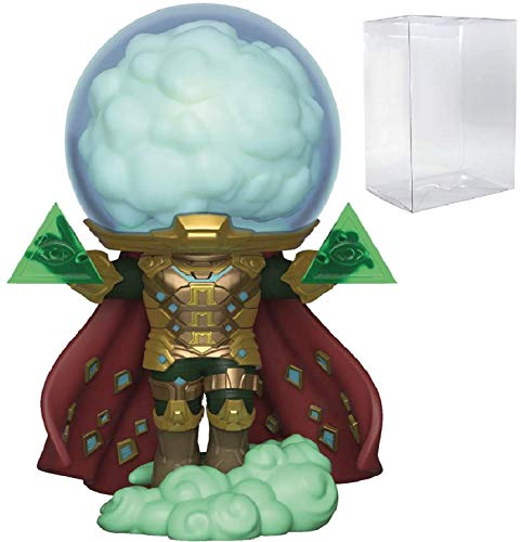 Marvel Spider-Man Far from Home - Mysterio Funko Pop! Vinyl Figure (Includes Compatible Pop Box Protector Case)