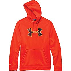 Under Armour Rival Hoodie - Men's Dark Orange Cabana Xxl