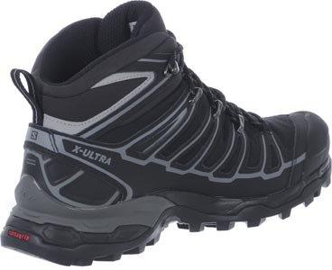Salomon X Ultra Mid 2 Spikes GTX Men black/aluminium