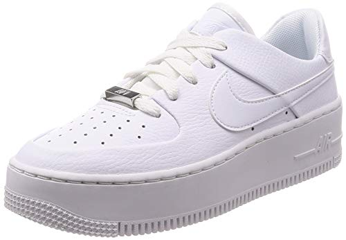 Nike Air Force 1 Sage Low Women's Shoes White/White ar5339-100 (9 B(M) US) (Nike Air Force 1 Low Premium)