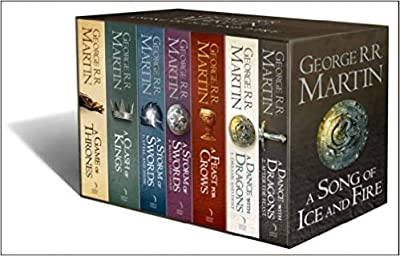 [By George R R Martin ] A Song of Ice and Fire - A Game of Thrones: The Complete Boxset of 7 Books (Paperback)?2018?by George R R Martin (Author) (Paperback)