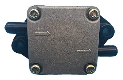 Tuzliufi Replace Fuel Pump Assy Suzuki Outboard Engine DF 4HP 5HP 6HP Yamaha 4HP 5HP 4-Stroke 2 Cylinders 15100-91J02 15100-91J01 15100-91J00 67D-24410-03-00 67D-24410-00 67D-24410-01-00 New Z106 ()