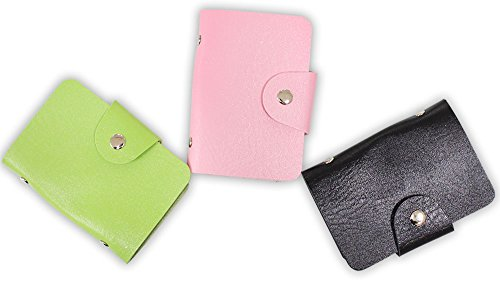Photo Pocket Purse - ToolUSA 3-3/4 X 2-1/2 Inch Pocket Sized Leather Credit Card And Photo Snap Case: TC547-LTH-YX