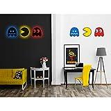 Pac-Man Silhouette Light