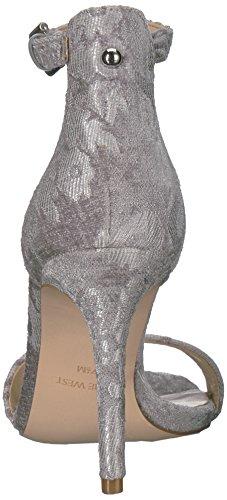 Mootsie Tootsies - Cathleena - Womens Flats Light Grey Fabric 0N0nLr6Sj