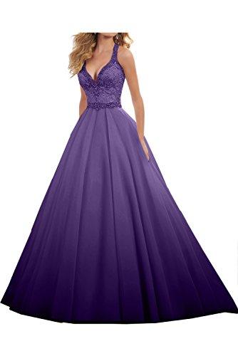 Violett Linie Steine Damen Liebling Festkleid Lang Ivydressing Abendkleider A Ballkleid Hochzeitskleid qxv7AIZnwt