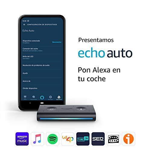 🥇 Echo Auto – Pon Alexa en tu coche