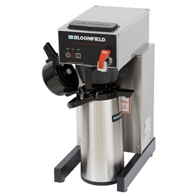 Bloomfield 1082AF E.B.C Electronic Airpot Brewer, Pour-Over Option, Faucet, 17'' Depth, 10'' Width, 21 1/2'' Height by Bloomfield