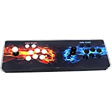 Wisamic Pandora's Box 4S Double Stick Arcade Video Game Console 800 Games, 1280x720 Full HD, 2 Players with HDMI and VGA Output