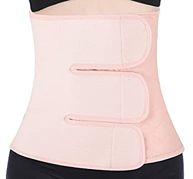 82fa2b8543 ChongErfei Postpartum Belt Support Recovery Belly Wrap Waist Abdomen Belt  Body Postnatal Shapewear
