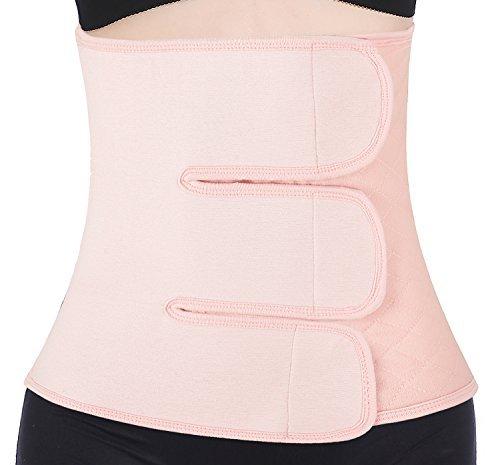 Chongerfei Postpartum Support - Recovery Belly/Waist/Pelvis Belt Shapewear (Pink, Postpartum Waist 29\