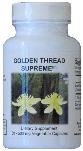 Supreme Nutrition Golden Thread Supreme, 60 Coptis Chinensis Caps For Sale