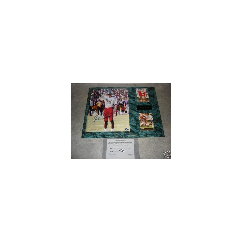 Jerry Rice Autographed Mississippi Valley State Wall Plaque w/ COA