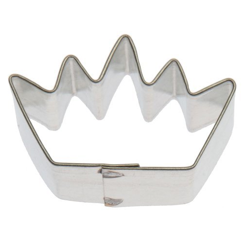 Miniature Crown Tin Cookie Cutter 1.5