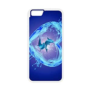 Dolphin iPhone 6 Plus 5.5 Inch Cell Phone Case White present pp001_9794493