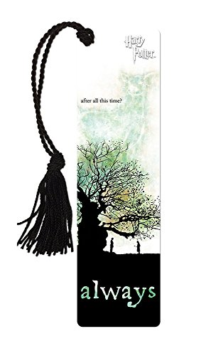Harry Potter (Severus Snape and Lily Potter Always - After All This Time) Bookmark with Tassel