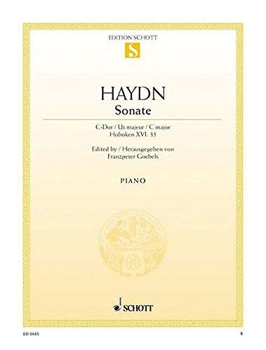 PIANO SONATA C MAJOR         HOB 16:35 (35 Piano Sonatas)